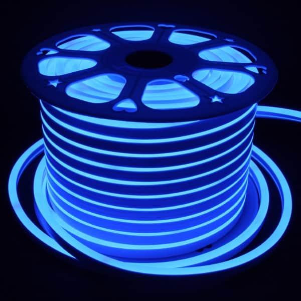 ταινία led neon flex μπλε