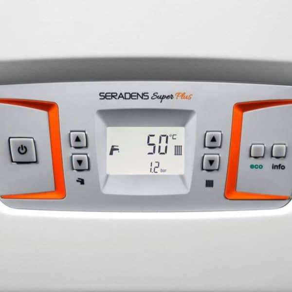 λέβητας αερίου οθόνη LCD alarko seradens super plus eco