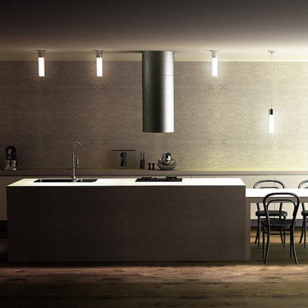 φωτιστικό οροφής eight για κουζίνες και μπάνια