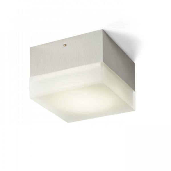 φωτιστικό οροφής μπάνιου τετράγωνο marc sq
