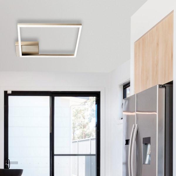 φωτιστικό οροφής σε σχήμα τετράγωνο BARD 3394-61-225 FABAS LUCE
