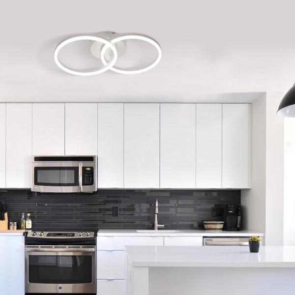 πανέμορφο φωτιστικό οροφής led GIOTTO 3508-22-102 FABAS LUCE