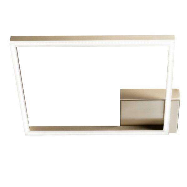 φωτιστικό χρυσό τετράγωνο πλαίσιο bard FABAS LUCE