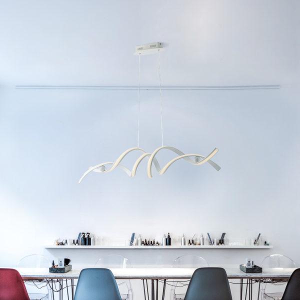 Υπεροχο φωτιστικό ιδανικό για την τραπεζαρία LED-MYSTRAL-S 8031414868674 LUCE AMBIENTE