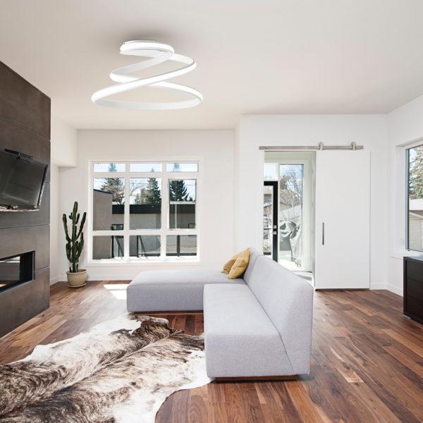 φωτιστικό οροφής υψηλής αισθητικής PL.VUELTA/B.CO ONDALUCE
