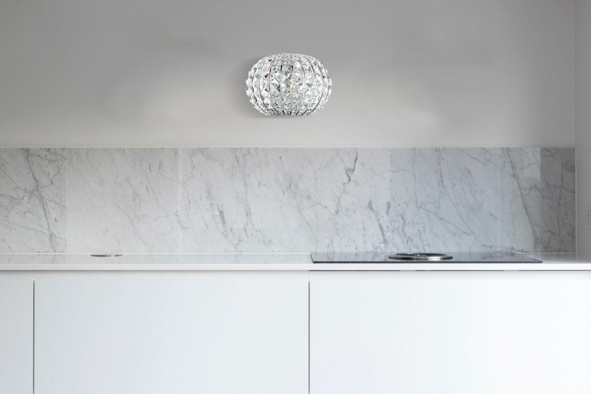 φωτιστικό τοίχου με πολυτελείς κρυστάλους I-CONCERT/AP LUCE AMBIENTE