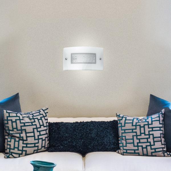 φωτιστικό τοίχου ιδανικό για το σπίτι trilogy luce ambiente