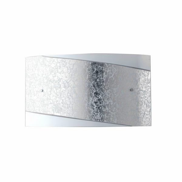 φωτιστικό τοίχου λευκό ασημί paris luce ambiente
